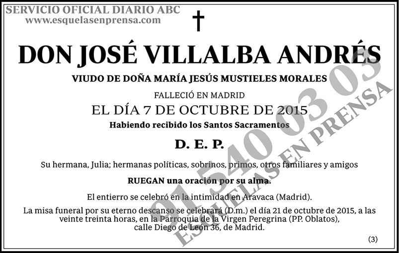 José Villalba Andrés